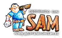 Cajas de Madera Decorativas | Decorando con Sam Logo